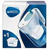 BRITA Wasserfilter Style hellblau inkl. 1 MAXTRA+ Filterkartusche – BRITA Filter in modernem...