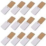 Karteikarten mit Ring (12 Stück) - 8,9 x 5,6 cm (0.7 cm Stärke, 110 GSM) 600 Blatt, 50 Weiß Blatt...
