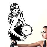 Tianpengyuanshuai Gym Aufkleber Vinyl Wandtattoo Wandbild Fitness Crossfit Finden Aufkleber Muskel...
