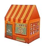 Tent Kinderhausdekoration Cartoon-Zelt, Haushalt Princess Room Farbige Spielzeughaus for 2-3...