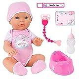 Bayer Design 94209AA Funktionspuppe, Interaktive Puppe Piccolina Love, die PIPI Machen kann, die...