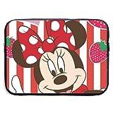 Hdadwy Wasserbeständige Laptoptaschen Minnie und Strawberry Ultrabook Aktentasche Hüllenetaschen...