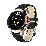 IP68 wasserdichte intelligente Uhr-Frauen-schöne Armband Herzfrequenzmonitor Schlafüberwachung...