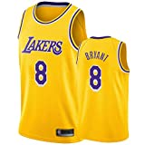CHSC # 8 Kobe Bryant Trikot Lakers Weste, Jungen Basketball Fans Uniform Tops, Classic Edition...