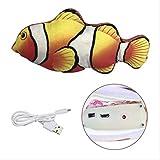 Katzenspielzeug Fisch 1 Pc Usb Aufladen Haustier Weiche 3d FischformKatzenspielzeug Fisch...