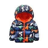 HJHJ Baby Winter Daunenjacke Outwear Lightweight Water-resistent Packable Pufferjacke Verdicken...