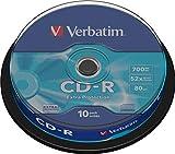 Verbatim CD-R 700MB 52x Extra Protection Surface Shrink 10