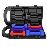 Dip Hantelset Non Slip Grip Gym Gewicht LIifting Hand Hantel Massiv Startseite Gewicht-Training...