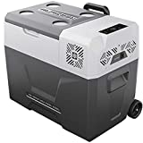 SSLL Car Refrigerator Mini Tragbarer Kompressor-Kühlschrank Tragbare Thermo-elektrische...