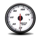 Auto Instrumententafel 60MM Racing gendertes Auto-Motorrad-Wassertemperaturanzeige...