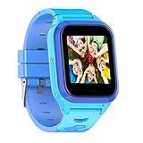 Pomya Kinder Smart-Watch, GPS + LBS + WiFi, mehrere Positionierung, IP67, wasserdicht, Smart-Uhr,...