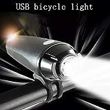 Zphy Fahrrad-Licht, Fahrrad-vordere Licht-USB aufladbare Fahrrad-Scheinwerfer wasserdichte Berg...
