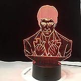 Mittelfinger Chef 3D Nacht LED USB Stimmungslicht mehrfarbige Tischlampe LED Geschenk