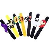 Eksesor 7pcs Halloween Slap Armbänder, Schnapparmband,für Party Slap Armbänder für Kinder Preise...