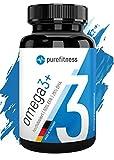 ULTRA HOCHDOSIERT - Omega 3 Kapseln Plus 2000 mg I zertifiziertes Fischl I 120 Fischlkapseln I...