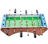 Kickertisch, leicht montierbar, Holzfußball-Spieltisch mit Fußbällen, Indoor-Tisch-Fußball-Set...