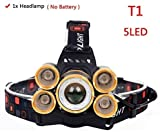 SHALU Z35 Scheinwerfer Auenscheinwerfer Cree Xml 3/5 LED T6 Scheinwerfer Taschenlampe Taschenlampe...