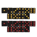 Hellery Set mit 20 Sechsseitigen Quadratischen Undurchsichtigen D6 16mm Standardwürfeln für D & D...