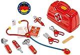 Theo Klein 4457 Arztkoffer I Mit Stethoskop, Thermometer, Spritze und vielem mehr I Robuster Koffer...