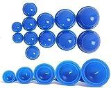 xy 12 Tassen Silikon Medizinische Vakuum Massage Schrpfbecher Gesundheitspflege Reise Set