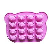 iHOMIKI Koala-Bren-Kuchen-Form-Silikon-Form fr Sigkeit Schokolade Bakeware Form 16 Cavity