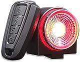 Rücklicht für Fahrrad, Rücklicht, sehr hell, 115 dB, Alarm, Rücklicht für Fahrrad,...