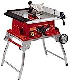 Einhell Tischkreissäge TE-TS 250 UF (max. 2.000 Watt, Trolleyfunktion, Softstart, Aluminiumtisch,...