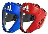 adidas AIBA Boxing Heard Guards Kopfschoner, Blau, XL