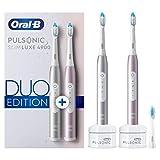 Braun Oral-B 4210201365983 Pulsonic Slim Luxe 4900 Duo Edition Elektrische Schallzahnbürste, für...