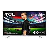 TCL 65P721 LED Fernseher 65 Zoll (164cm), 4K HDR, Ultra HD, Smart TV mit Android 11, rahmenloses...