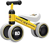 YGJT Kinder Laufrad ab 1 Jahr | Fahrrad Spielzeug für 10-24 Monate Junglen und Mädchen | Rutschrad...