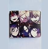 ZHOUBIN Geldbörse Anime Volleyball Junior Short Color PU Manga brieftasch münzfach Kreditkarte...