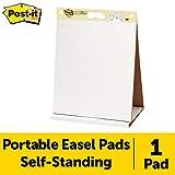 Post-It, Tischflipchart mit 20 selbstklebenden weißen Blättern, Weißwandtafel für Meetings,...