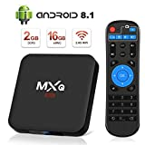 Android 8.1 TV Box Superpow Android Box 2GB RAM+16GB ROM Quad-Core mit 3D/ 4k / 2.4Ghz WiFi / 100...