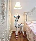SMC Stehleuchten Kinderzimmer Cartoon Einhorn Stehlampe Schlafzimmer Moderne Minimalistische...