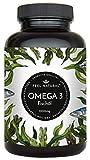 Omega 3 Fischöl Kapseln - 365 Kapseln im Jahresvorrat - Hochwertig: 1000mg Fischöl je Kapsel und...