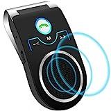 Aigoss Auto Kfz Freisprecheinrichtung Bluetooth Visier Car kit, Unterstützt Siri/Google...