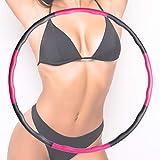 FIT4u Hula Hoop Reifen für Erwachsene und Kinder zur Gewichtsreduzierung, Durchmesser 96cm, Gewicht...