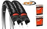 CST 2 x Fahrradreifen 28' Breaker Pannensicher 37-622 28x1 3/8 x1 5/8 Fahrrad Reifen mit...
