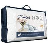 DormiGood - Premium Daunenkissen 80 x 80 cm 100% Natur - 3 Kammer Kopfkissen 80x80 1000g extra weich...