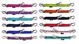 netproshop Praktische Pferde Longierbrille mit Drehhaken für Longenarbeit, Farbe:Hellgruen