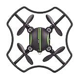 AMONIDA Quadcopter, tragbare Faltbare Drohne Hubschrauberspielzeug Fernbedienung Fernbedienung...
