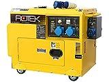 Rotek Diesel Stromerzeuger mit Notstart-Automatik GD4SS-1A-6000-5EBZ-ATS (5,5 kVA / 230V 50Hz...