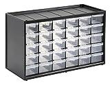 Stanley Kleinteilemagazin (36,5 x 15,5 x 22,5 cm, mit 30 Schubladen, bruchfester Kunststoffrahmen,...