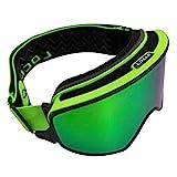 XMYNB Skibrille Magnetische Skibrille 2 In 1 Multifunktions Männer Frauen Snowboardbrillen Schnee...