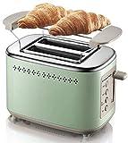 CattleBie Brotbackautomaten, Haus Frühstück Brot-Maschine Vollautomatische Toaster Toast...
