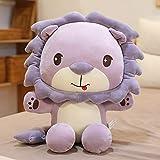 N / A Sunshine Lion Doll Sitting Version Komfortable Lion Healing Doll Plüschtiere Kindergeschenke...