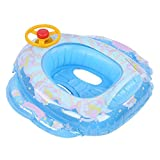 Jarchii Aufblasbarer Poolring für Fliegende Pferde, schwimmendes Kinderboot, stabil und sicherer,...