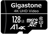 Gigastone 128GB Mirco SD Speicherkarte, Actionkameras und Drohnen, Lesegeschwindigkeit bis zu...