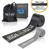 High Pulse®Flossing Band 2er Set inkl. gratis Transporttasche und Beileger – Flossband 1,5 mm...